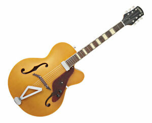 Gretsch G100CE Synchromatic Archtop Cutaway Electric Rosewood FB Flat Natural