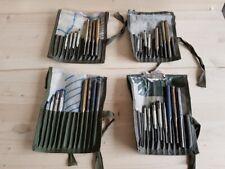 Satz Profi Splinttreiber Durchtreiber 8 Stück mit Rolltasche ex Bundeswehr A3