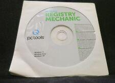PC TOOLS Registry Mechanic Windows 7 Vista XP Key Listed on Back