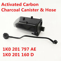 Activated Carbon Charcoal Canister Cans & Hose 1KO 201 797 AE