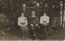 soldier family group 7th Dragoon Guards Posted from Canterbury August 1906