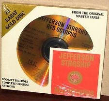 DCC GOLD CD GZS-1110: JEFFERSON STARSHIP - Red Octopus - OOP 1997 USA SEALED