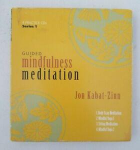 Guided Mindfulness Meditation by Jon Kabat-Zinn (Audio Book, 2002)