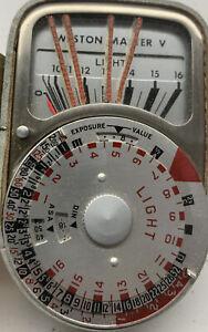Weston Master V Light Meter in Original Case