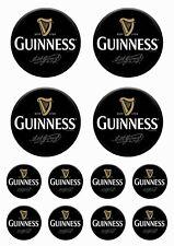 Guinness - 12 Stück Vinyl-Aufkleber - 12 Pieces Vinyl Stickers - #Gu02
