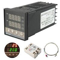 PID Digitaler Temperaturregler REX-C100 mit K Thermoelement SSR Ausgang fü RT100