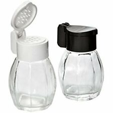 Flip Top Glass Salt and Pepper Shaker Set by Fox Run