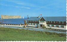 Hotel Perce Sur Mer L'Hotel Perce QC Quebec Que Restaurant AAA Postcard D19