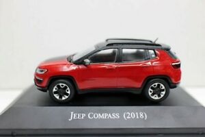 New 1/43 Scale Jeep Compass 2018 Diecast Model Car For collection
