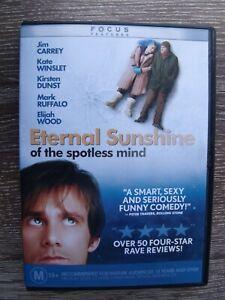 Eternal Sunshine Of The Spotless Mind DVD 2004 (Region 4)