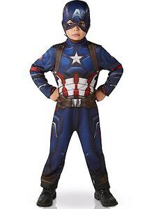 Carnaval Déguisement Enfant Captain America The Avengers Ps 05067