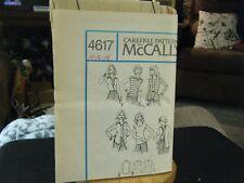 McCall's 4617 Top, Shirt & Cardigan Pattern - Size 14/16/18