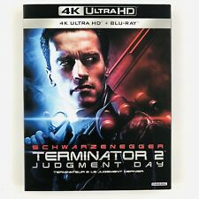 Terminator 2 - Judgement Day (4K Ultra HD, Blu-ray, w/ Canadian Slipcover) New