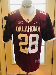 Oklahoma Sooners #28 Adrian Peterson Red College Jersey