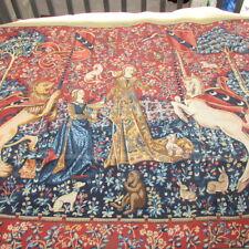 Margot Paris Tapestry Needlepoint Dame a La Licorne Le Gout Rare Canvas 47x59