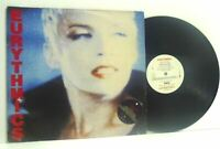THE EURYTHMICS be yourself tonight LP EX/VG PL 70711, vinyl, with inner & insert