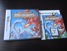 Nintendo DS:  Battle of Giants: Dragons complete in case & tested