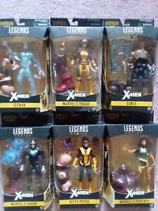 Marvel Legends X-Men Juggernaut Wave BAF 2016 Cable Kitty Pryde Rogue Iceman NEW