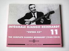 DJANGO REINHARDT - INTEGRALE N° 11 - (1940-1942) - 2 CD