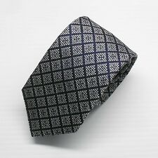 NWT Battisti Napoli Tie Navy & Pale Pink check pattern Made in Italy