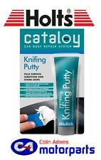 Holts Cataloy Knifing Putty - 100g CAT13 Fills surface scratches - extra smooth