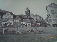 Hamburg - Fotografien von Höge um 1870 - Turm von St. Annen, Neuer Weg, Brooktor