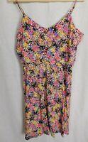 NWT Gap Women's Floral Cami Dress Smocked Back MSRP$50 Sizes L XL & 2XL New