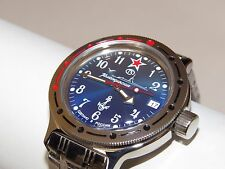 RUSSIAN Military WATCH VOSTOK AMPHIBIA AMPHIBIAN DIVER 420289 NAVY SUBMARINE