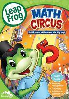 LeapFrog Math Circus dvd New, Free shipping