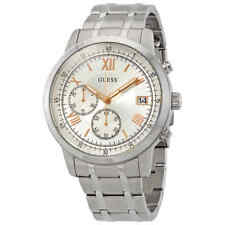 Guess Summit Chronograph Silver Dial Men's Watch W1001G1