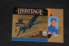 """DWIGHT """"DOC"""" GOODEN 2005 DIAMOND KINGS SIGNED AUTOGRAPHED CARD #HC9 NY METS"""