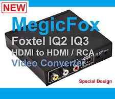 Best works for Foxtel IQ3  MegicFox HD IQ3  HDMI to HDMI+ RCA Video Converter*
