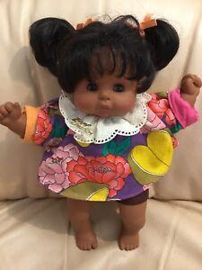Vintage Rare Brigitte Leman African American Zapf Creations 1987 Doll 28cm Tall