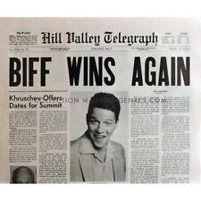 RETOUR VERS LE FUTUR Réplique EXACTE du journal Biff Wins Again !
