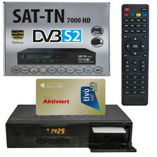 SAT-Receiver ( mit TIVUSAT Karte aktiviert ) TN 7000 HDTV 1080p RAI Mediaset TV
