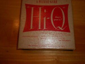 Vintage Hi-Q Puzzle Game in Original Box