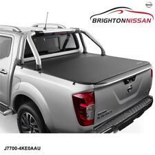 New Genuine Nissan Navara D23T Soft Tonneau Cover With Sports Bar J7700-4KE0AAU
