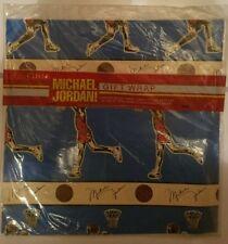 MICHAEL JORDAN Chicago Bulls Vintage 1980's Sealed Gift Wrap Cleo / Jump Inc