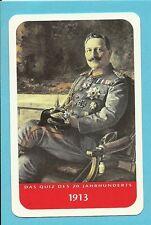 Wilhelm II German Emperor WWI Cool Collector Card Europe