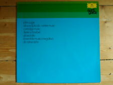 John Cage-Atlas Eclipticalis & Dieter Schnebel-Glassolalie-Musica Negativa-DGG