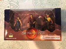 Universal Firefly Serenity Pvc Figure set of 3 Dark Horse Packaged Original Box