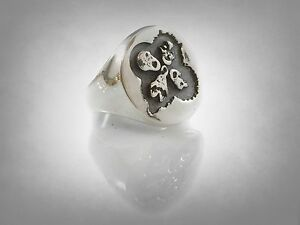 band rock and roll ever ring sterling silver 925