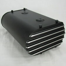 BLACK Motorcycle Electronics Box Storage Holder Mount Chopper Bobber Cafe Racer