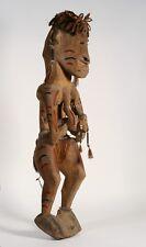 Large Asmat Carved Wood House Figure - Tribal Irian Jaya / Papua New Guinea