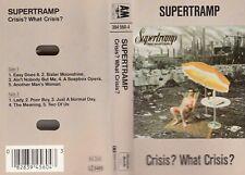 "K 7 AUDIO (TAPE)  SUPERTRAMP   ""CRISIS? WHAT CRISIS?"""