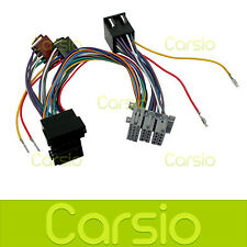 Vauxhall Vectra Hands Free Parrot/Bluetooth ISO Adaptor Lead Connector Harness