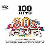 100 HITS~80'S WEEKENDER (5 DISC CD SET) *NEW AND SEALED*