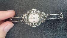 Raymond Daneil vintage style bangle stretch band quartz watch