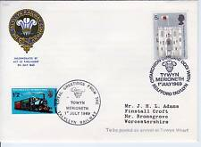 FDC AA75 Great Britain 1969 Cover Train 2v used