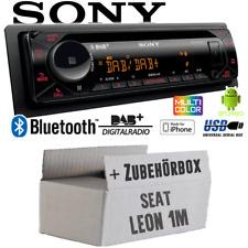 1998-2006 Sony CD Bluetooth USB AUX MP3 Autoradio für Seat Leon Toledo